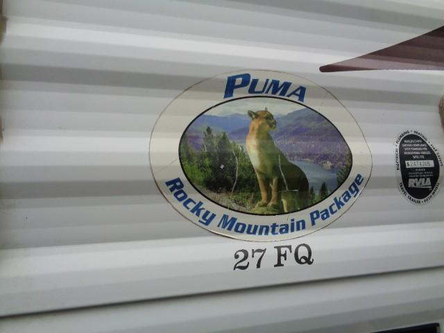 2010 FOREST RIVER PALOMINO PUMA