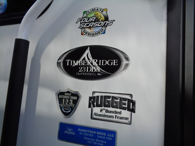 2018 OUTDOORS RV TIMBER RIDGE 23DBS