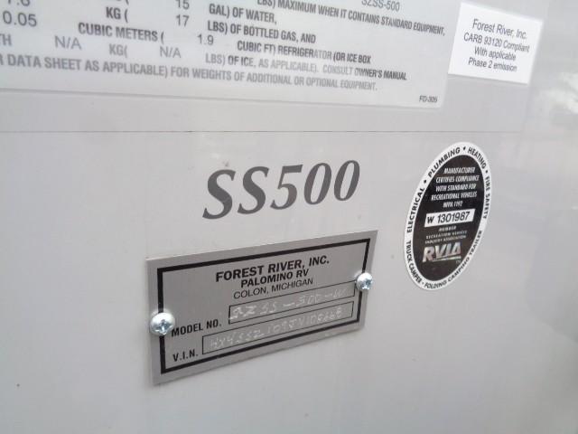 2018 PALOMINO SOFTSIDE SZSS-500-W
