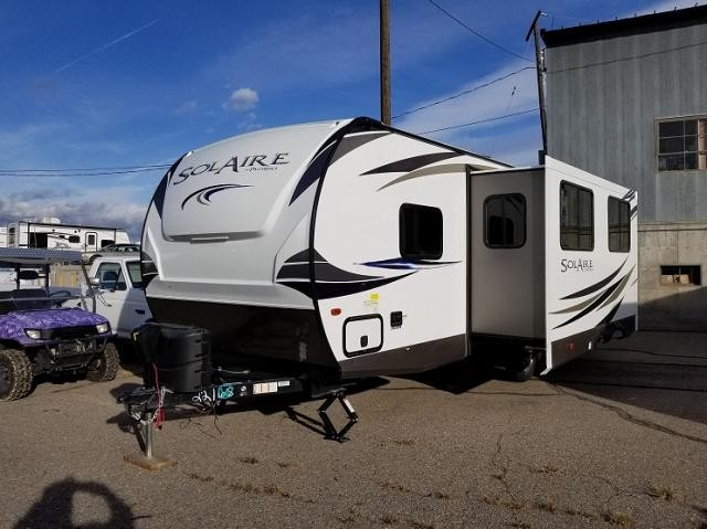 2018 PALOMINO SOLAIRE PAT251RBSS-W