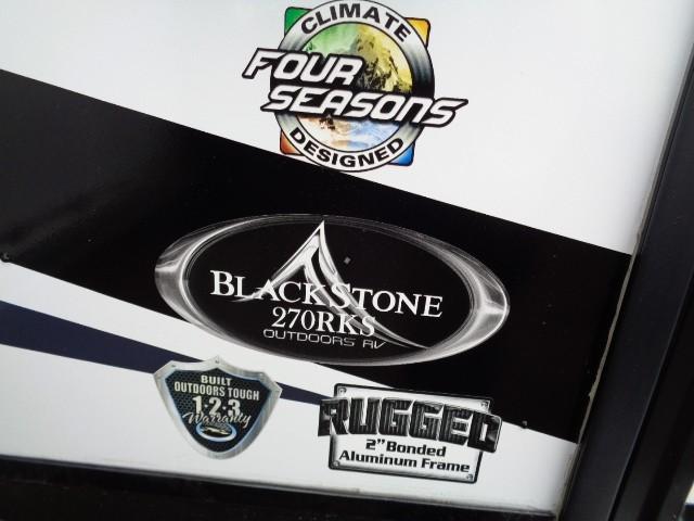 2019 OUTDOORS RV BLACK STONE 270RKS